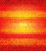 Abstract flat style polygon background. Varied tints of fire — Stock Vector