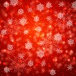 Abstract vector background. Stylized Christmas snowflakes — Imagen vectorial