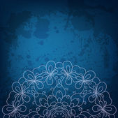 Abstract vector round ornament background for Your design — Cтоковый вектор