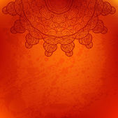 Abstract vector background. Beautiful lace arabesque — Stok Vektör