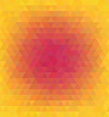 Abstract vector polygonal background for Your design — Stock Vector