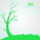 Spring vector background — Stock Vector