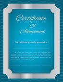 Vector certificate background — Stock Vector