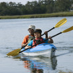 Couple kayaking. — Stock Photo #9276980
