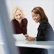 Businesswomen in office — Stock Photo #9311302