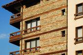 Mountain resort hotel — Stock Photo