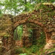 Ancient roman fortress gate ruin — Stock Photo