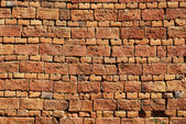Old country house brick wall — Stockfoto