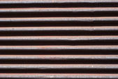 Old rusty roller shutter closeup — Stock Photo