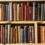 Second-hand bookstore shelfs — Stock Photo #13591330