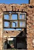 Vecchia fabbrica grunge distrutto — Foto Stock