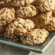 Stock Photo: Oatmeal cookies