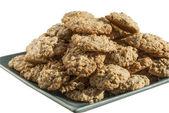 Biscuits à l'avoine fait maison — Photo