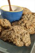 Homemade oatmeal cookies — Stockfoto