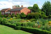 English garden in summer — Stock Photo