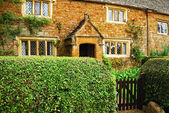 Old country stone house — Stock Photo