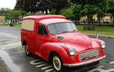老红老式汽车 — 图库照片
