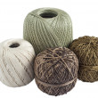 Four skeins of yarn for knitting — Stock Photo