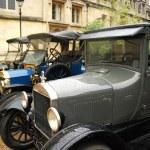 Automobile retro parade — Stock Photo