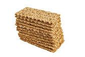 Sesame crispbread — Stock Photo