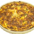 Stock Photo: Homemade quiche pie