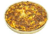 Homemade quiche pie — Stock Photo