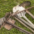 Used farm implements — Stock Photo