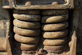Old rusty springs — Stock Photo