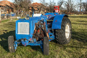 Handmade assembled tractor — Photo
