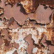 Stock Photo: Metal weathered painted surface