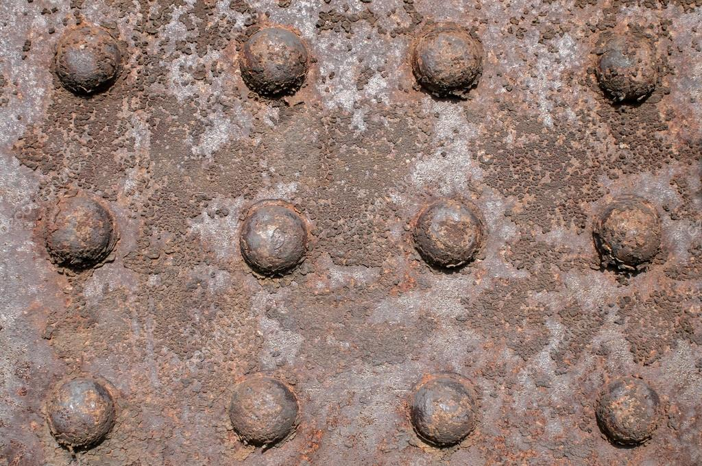 Elemento de hierro con remaches antiguos fotos de stock for Remaches de hierro