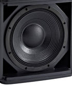 Stereo music audio equipment bass sound speaker — Stock Photo
