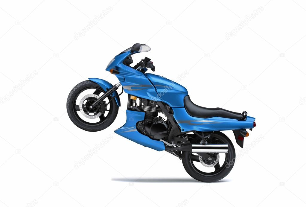 Prototype moto on white background  Stock Photo #13529323