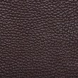Natural qualitative brown leather texture. Close up. — Stock Photo