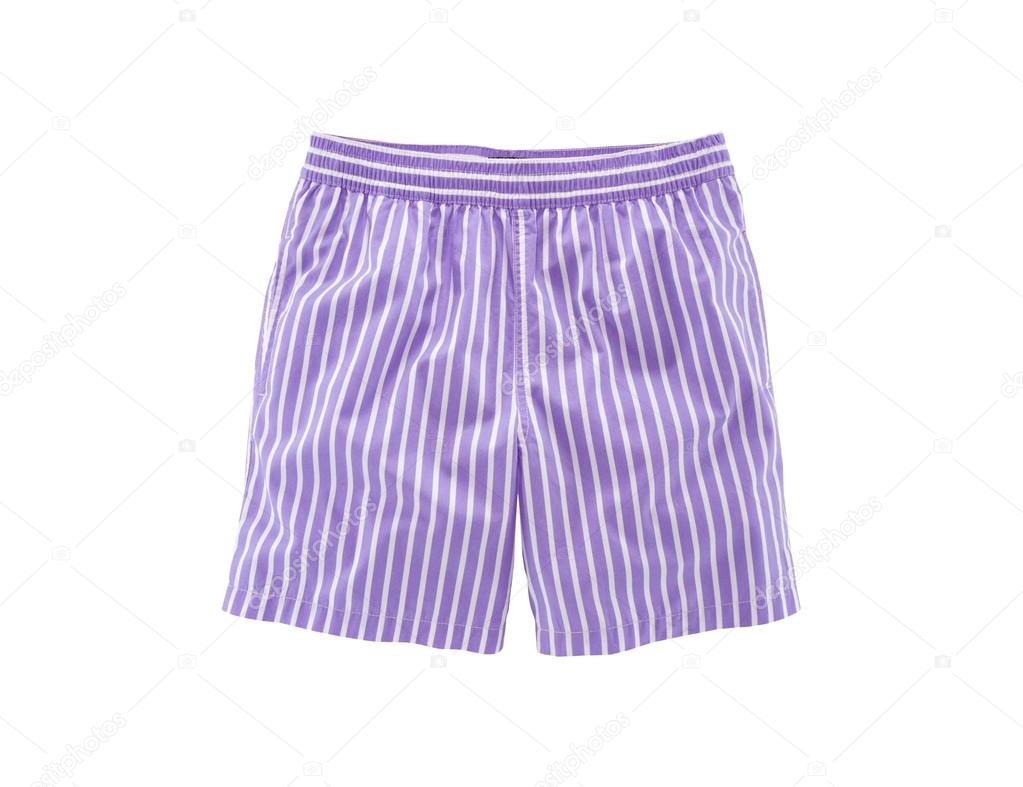Men's striped pants isolated on white background — Stock Photo #13530109