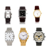 A set different mens watches — 图库照片