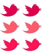 Pink Birds — Stock Photo