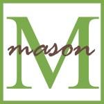 Mason Name Monogram — Stock Photo #12200753