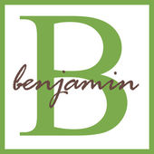 Benjamin Name Monogram — Stock Photo