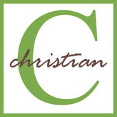 Christian Name Monogram — Stock Photo