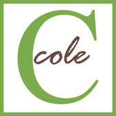 Cole Name Monogram — Stock Photo