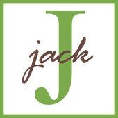 Jack Name Monogram — Stock Photo