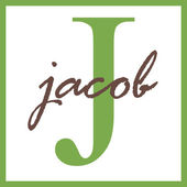 Jacob Name Monogram — Stock Photo