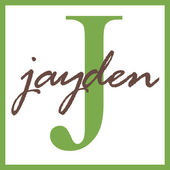 Jayden Name Monogram — Stock Photo