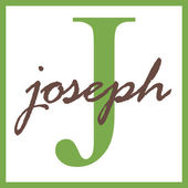 Joseph Name Monogram — Stock Photo