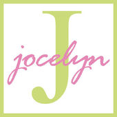 Jocelyn Name Monogram — Stock Photo