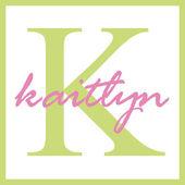Kaitlyn Name Monogram — Stock Photo