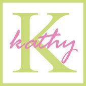 Kathy Name Monogram — Stock Photo