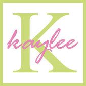 Kaylee Name Monogram — Stock Photo