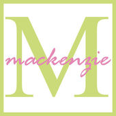 Mackenzie Name Monogram — Stock Photo